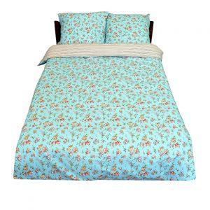 """Комплект постельного белья """"Виктория"""" голубой"""
