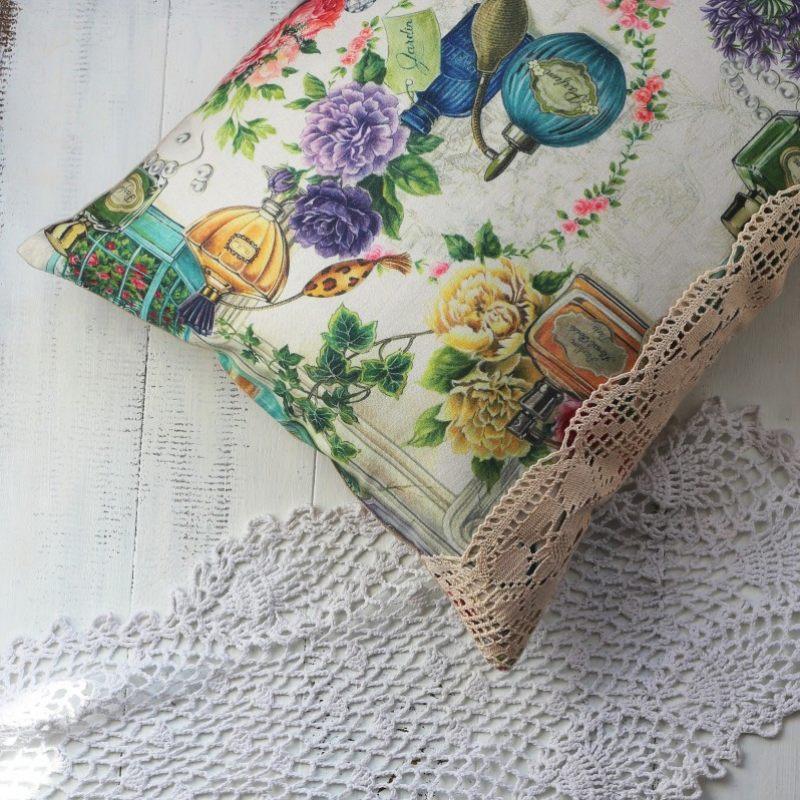 Льняная подушка  Парфюм