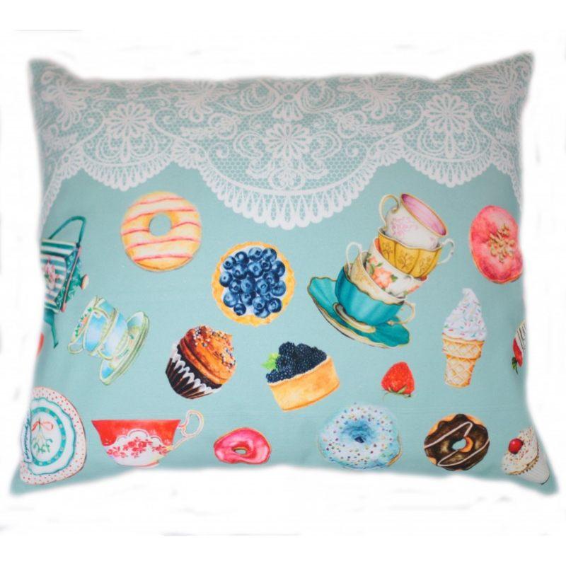 Декоративная подушка Сладкий пончик