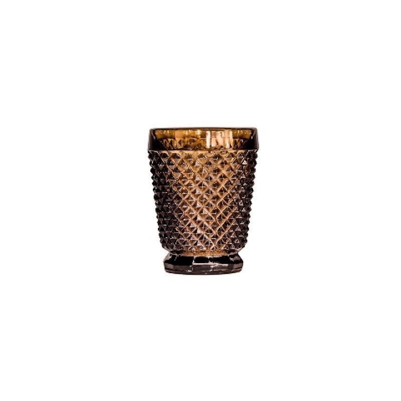 Стакан DIAMOND WATER GLASSES коричневый