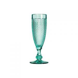 Бокал бирюза стекло