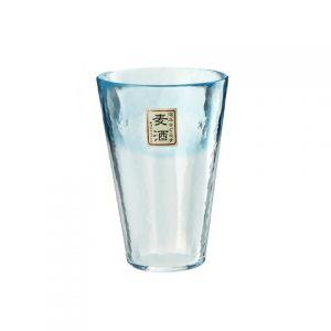 Стакан TOYO-SASAKI-GLASS Machine 400 мл голубой
