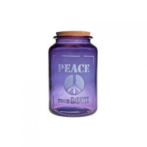 Банка фиолетовая PEACE TRUE LOVE 3,1 л