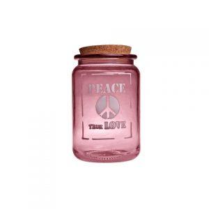 Банка для хранения розовая 1,4 л