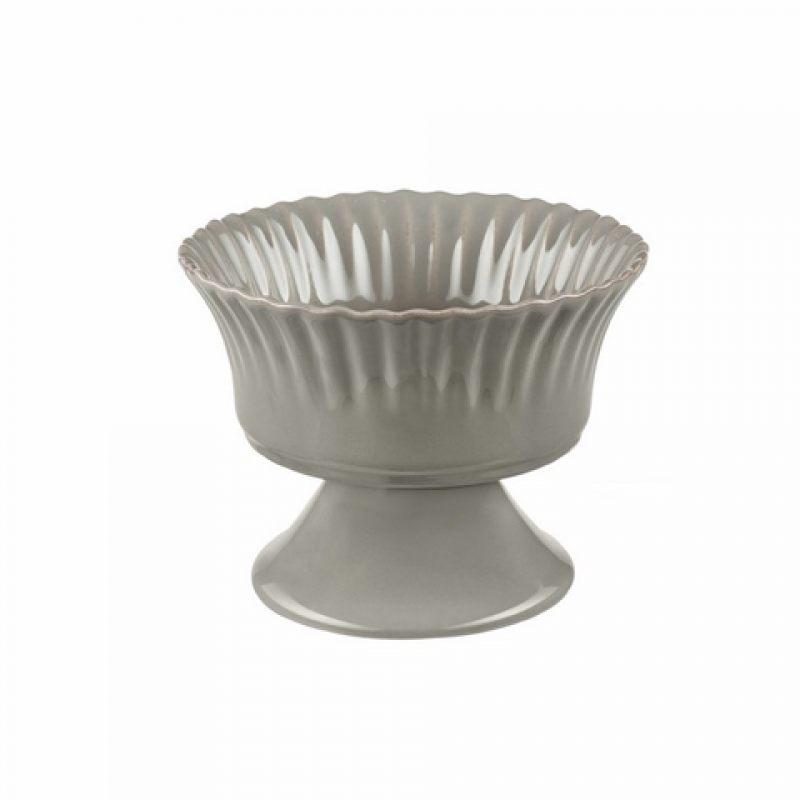 Чаша на ножке COSTA NOVA Village серый