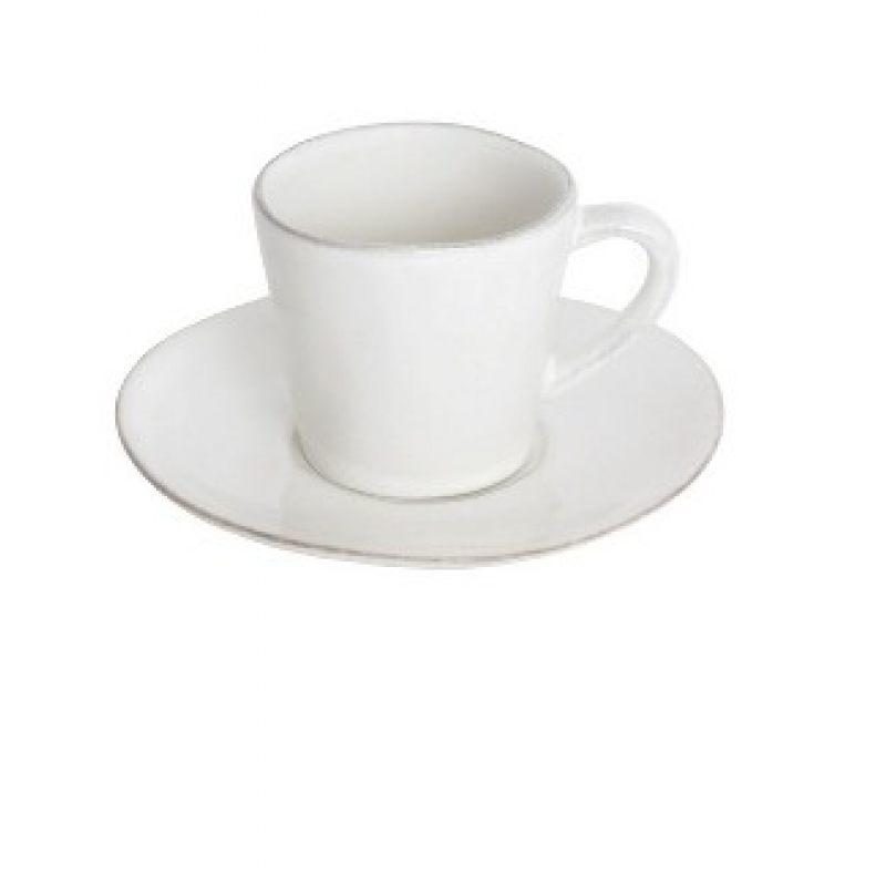 Кофейная пара COSTA NOVA Nova 70 мл белый