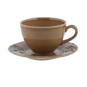 Чайная пара COSTA NOVA Mediterranea коричневый