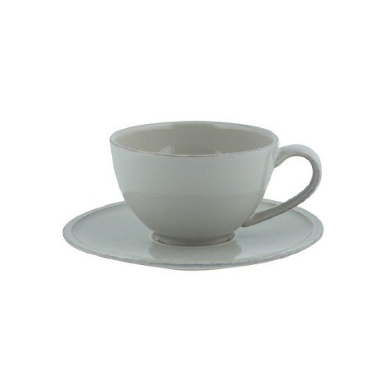 Чайная пара COSTA NOVA Friso серый