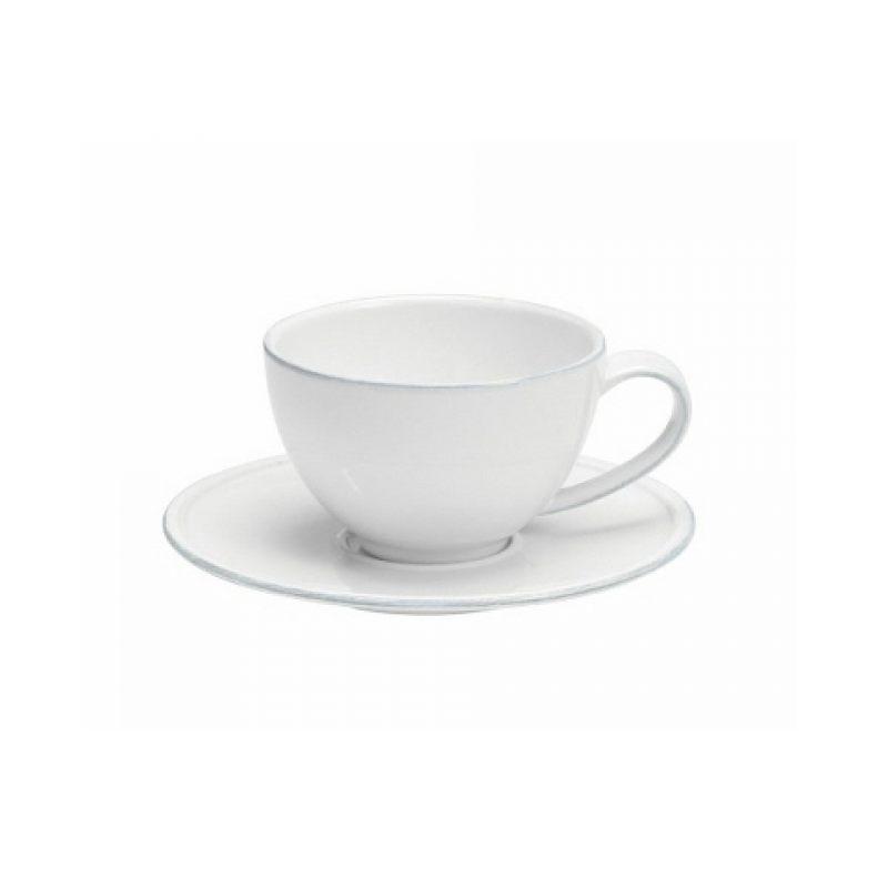 Чайная пара COSTA NOVA Friso белый