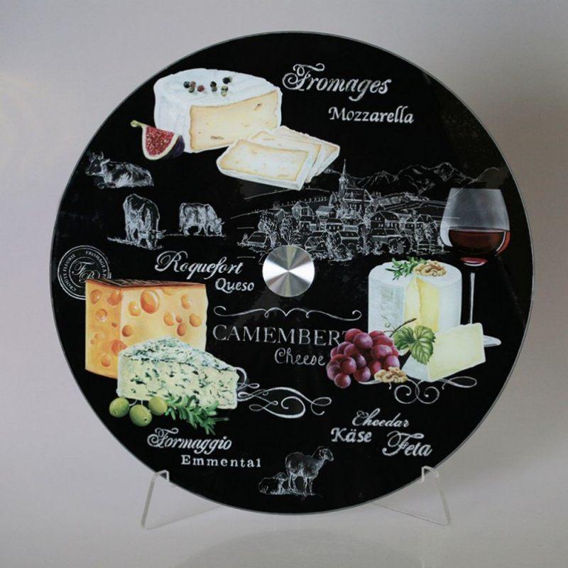 Вращающееся блюдо Мир сыров