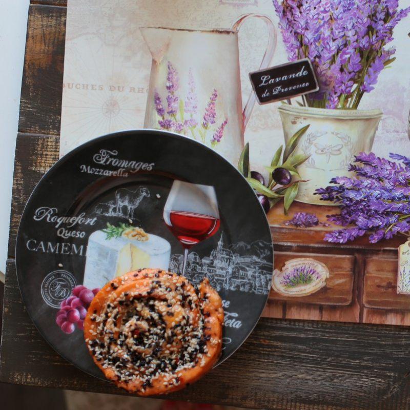 Набор из 4 тарелок для сыра Мир сыров
