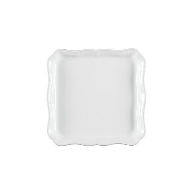 Поднос квадратный COSTA NOVA Alentejo 21 см белый