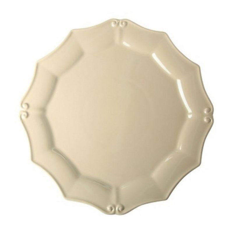Тарелка COSTA NOVA Barroco 36 см бежевый