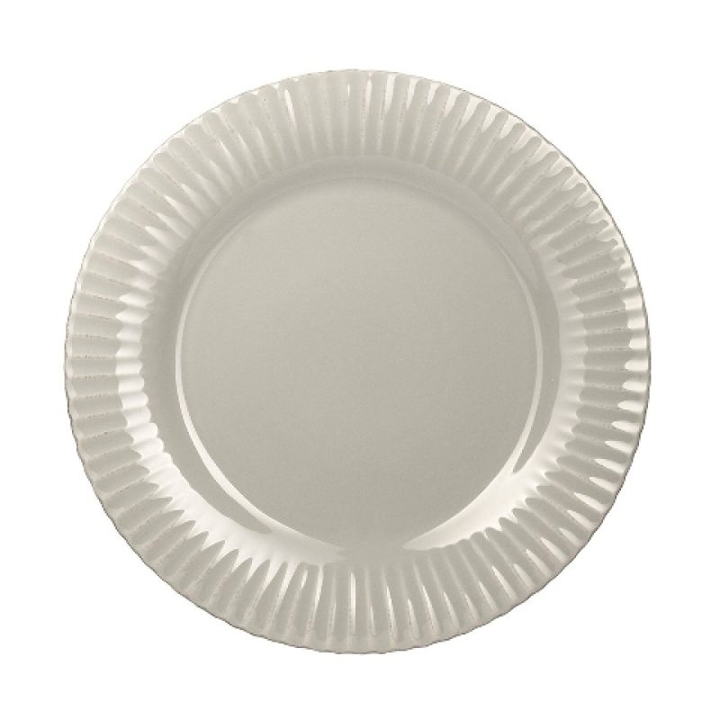 Тарелка COSTA NOVA 33 см серый