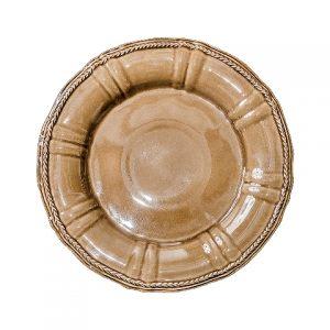 Тарелка COSTA NOVA Village 33 см коричневый