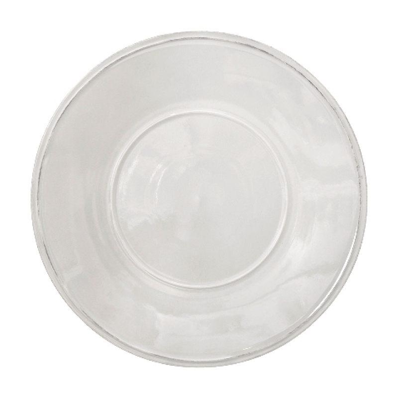 Тарелка COSTA NOVA Friso 34 см белый