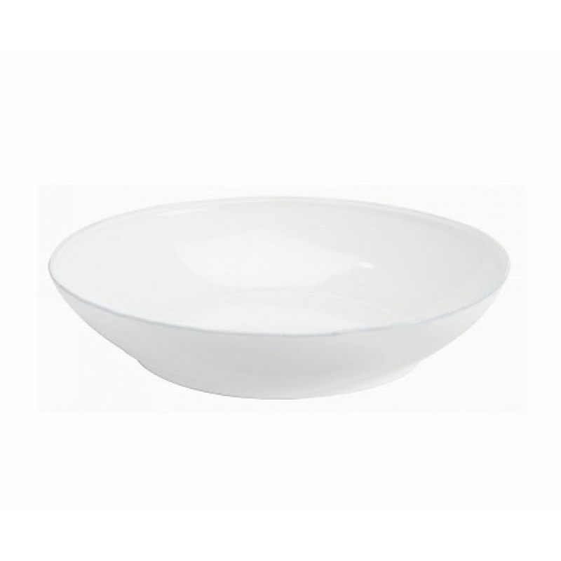 Тарелка глубокая COSTA NOVA Friso 34 см белый