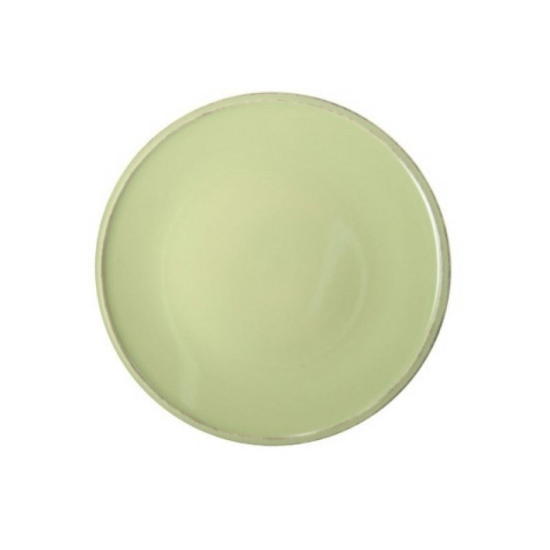 Тарелка COSTA NOVA Friso 22 см зеленый