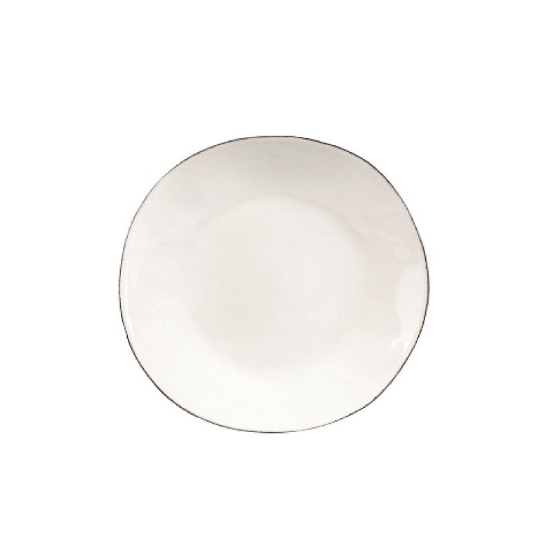 Тарелка COSTA NOVA Lisa 21 см белый