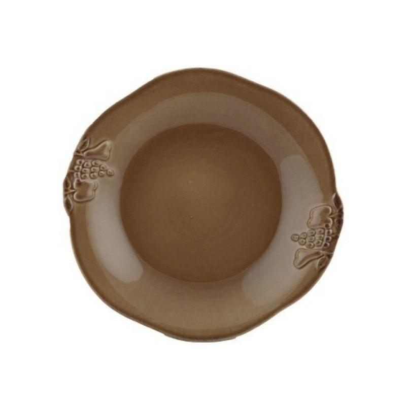 Тарелка глубокая COSTA NOVA Mediterranea 24 см коричневый