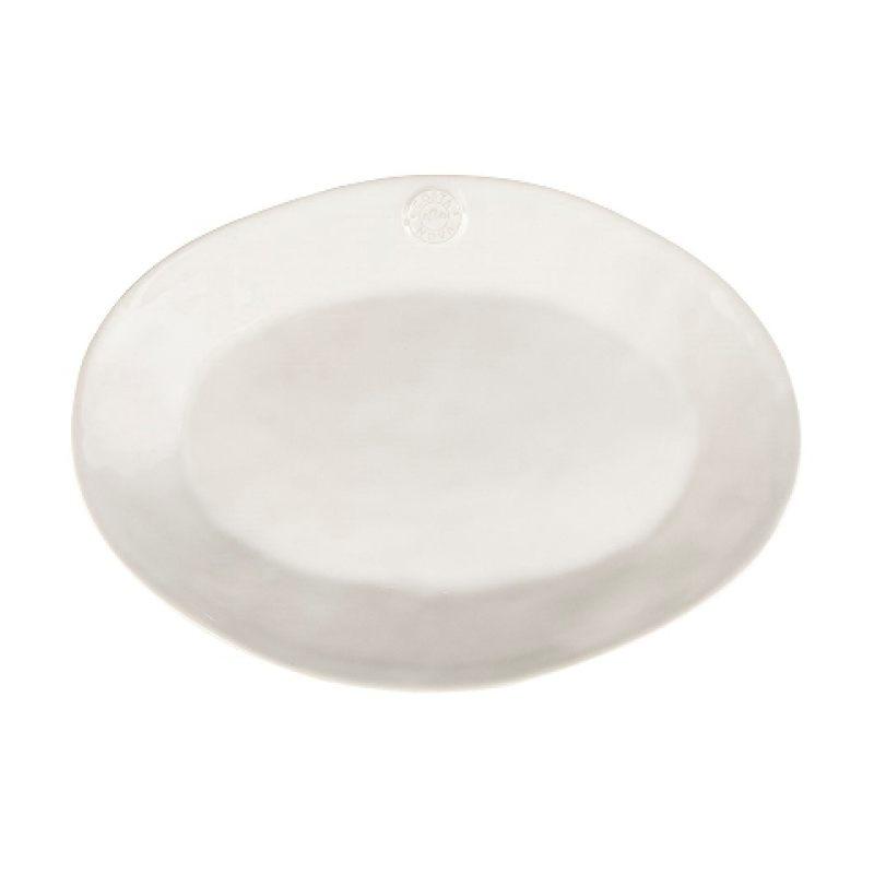 Блюдо овальное COSTA NOVA 40 см белый