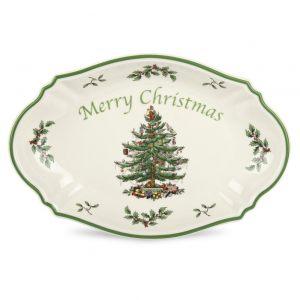 "Поднос ""Рождество"" SPODE CHRISTMAS TREE 28 см"
