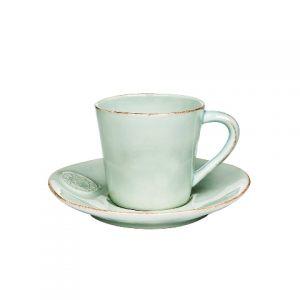 Чайная пара COSTA NOVA бирюзовый 190 мл