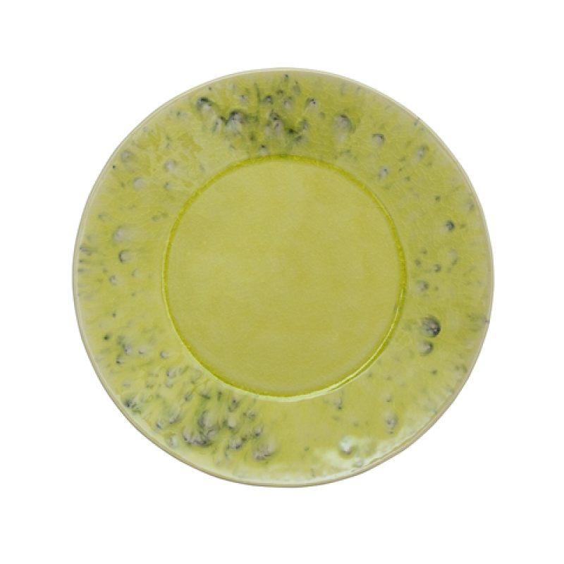 Тарелка COSTA NOVA MADEIRA 21 см зеленая вода