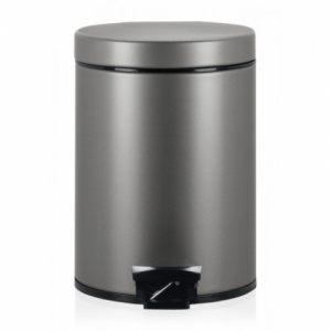 Бак для мусора Brabantia с педалью - Platinum (платина)