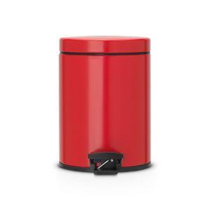Бак для мусора Brabantia с педалью - Passion Red (красный)
