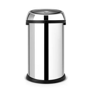 Мусорный бак Brabantia TOUCH BIN - Brilliant Steel (полированная сталь)