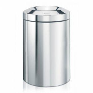 Несгораемая корзина для бумаг Brabantia - Brilliant Steel (полированная сталь)