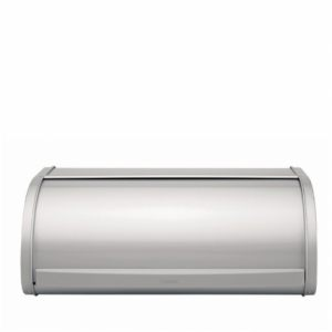Хлебница Brabantia со сдвигающейся крышкой - Metallic Grey (серый металлик)