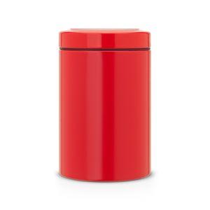 Контейнер с прозрачной крышкой Brabantia 1,4л - Passion Red (красный)