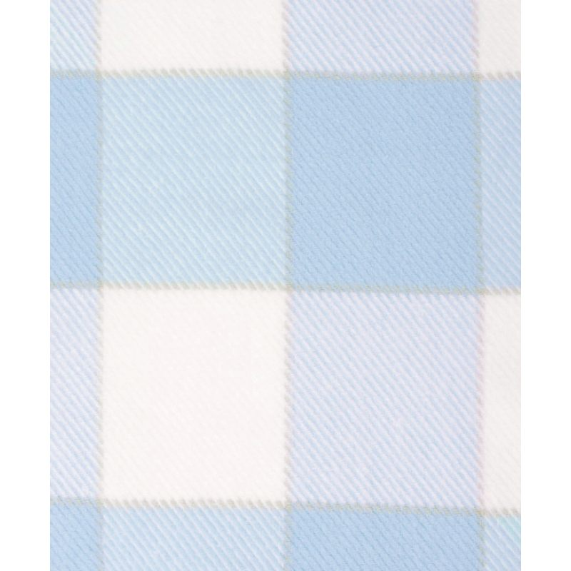 """Плед детский """"Vanessa"""", голубой/белый"""