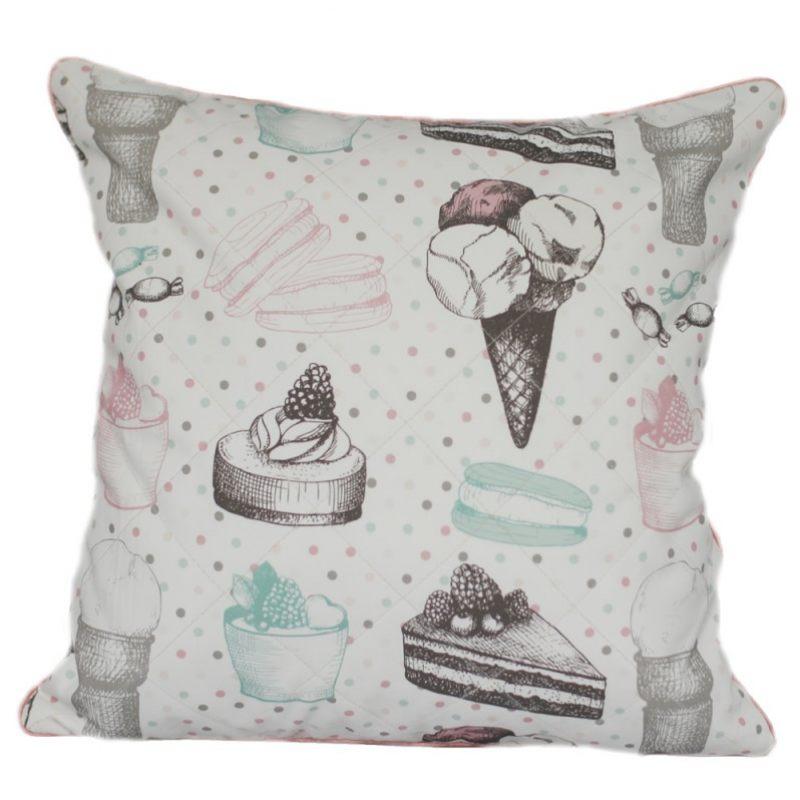 """Декоративная подушка """"Мороженое"""""""