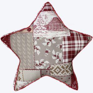 "Новогодняя подушка ""Звезда"""