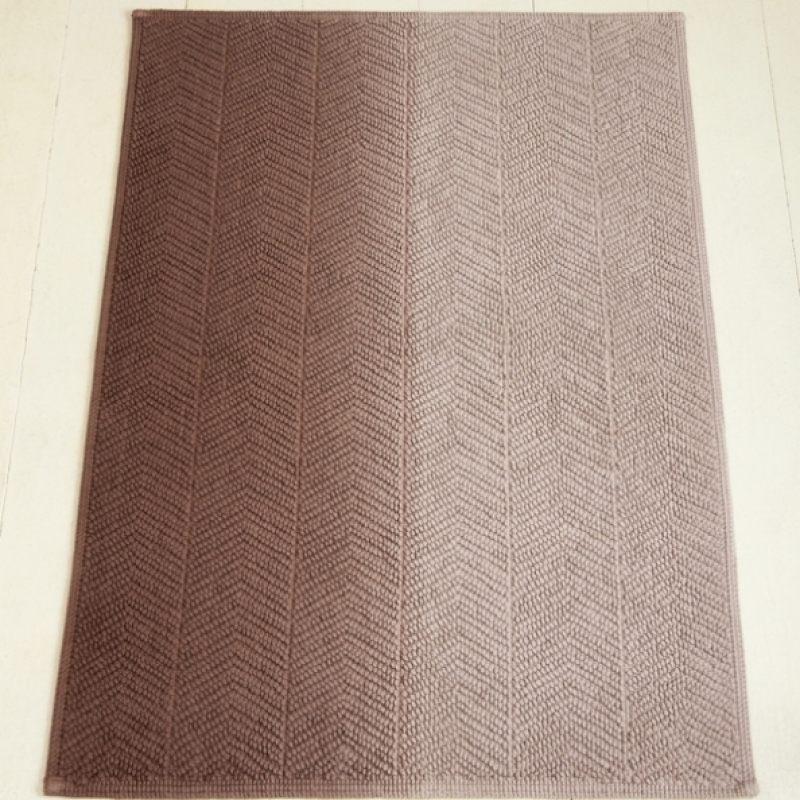 Коврик ART1, бежевый/коричневый