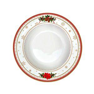 Тарелка суповая Счастливый Новый Год