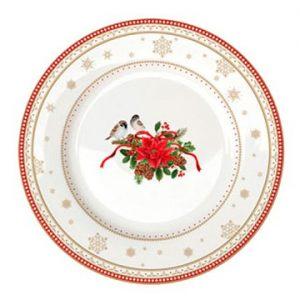 Тарелка десертная Счастливый Новый Год