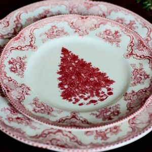 "Фарфоровая тарелка ""Рождество"""