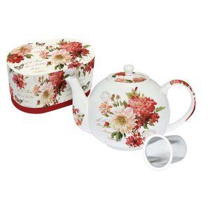 Чайник с металлическим ситечком Осенний Сад