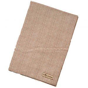 Кухонное полотенце в коричневую клетку