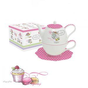 Чайник с чашкой Сладости