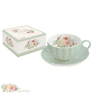 Чайная пара Роял JARDIN ROYALE зеленый
