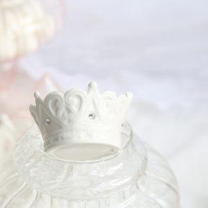 Керамическая икорница - корона