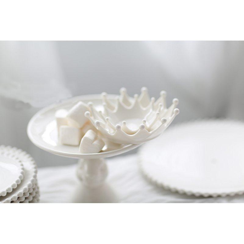 Икорница – корона из керамики
