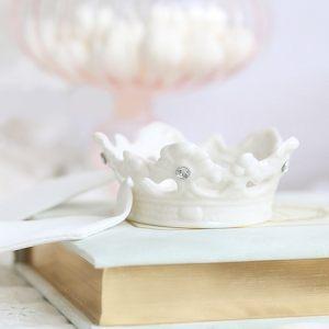 Икорница из керамики в виде короны