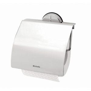 Настенный держатель для туалетной бумаги Brabantia (серия Profile) - Brilliant Steel (полированная сталь)