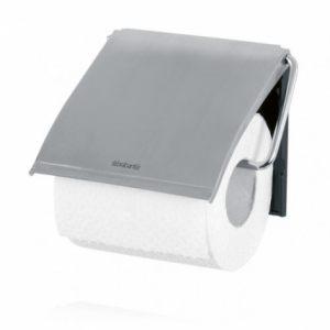 Настенный держатель для туалетной бумаги Brabantia - Matt Steel (матовая сталь)